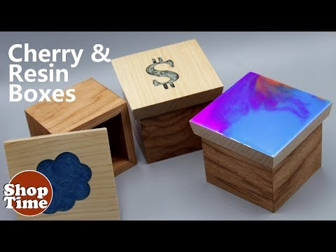 Cherry & Resin Boxes