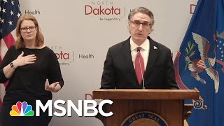 North Dakota Gov. Burgum Makes…