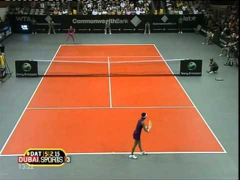 ana ivanovic-kimiko date krumm semifinal bali 2010 set 2