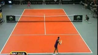 ana ivanovic kimiko date krumm semifinal bali 2010 set 2