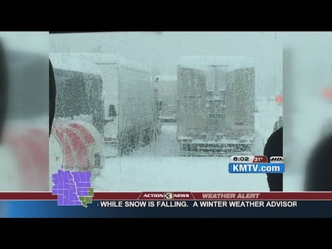 Church group returning to Omaha after getting stuck in snowstorm