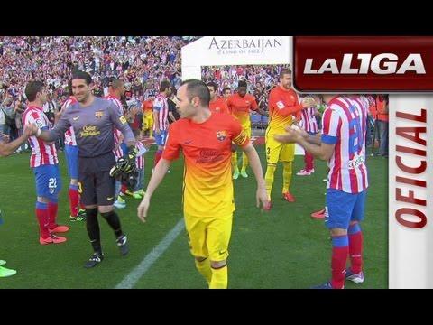 Resumen de Atlético de Madrid (1-2) FC Barcelona - HD - Highlights