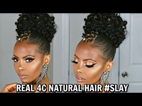 $11-braidless-crochet-|quick-easy-massive-bun-updo|-no-tension-no-cornrows-4c-#naturalhair|tastepink