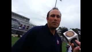 "20130818  Coach Vincent DiGaetano Leads ""Heads Up"" Football Clinic at SUNY Maritime"