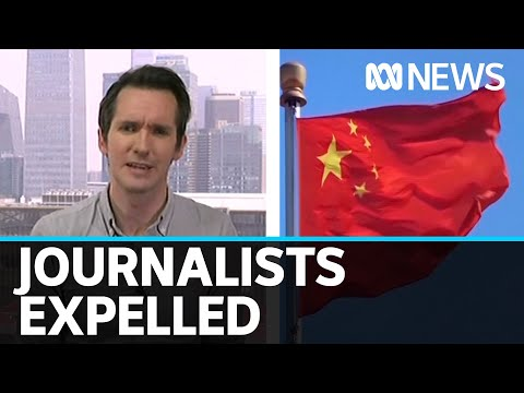 Why has China expelled dozens of American journalists? | ABC News