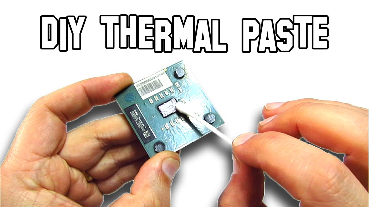 How to make thermal paste diy youtube for Thermal watches