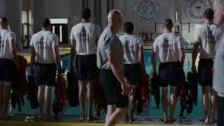 Начало усердных тренировок ... отрывок из фильма (Спасатель/The Guardian)2006
