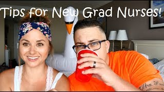 TIPS FOR NEW GRAD NURSES! (with Ashley Adkins)