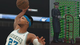 Nba 2k18 my career - invisible cheese! mountain dew gatorade! ps4 pro 4k gameplay