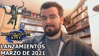 LANZAMIENTOS DEL MES --- Marzo de 2021 (y trailer de ALIENS FIRETEAM)