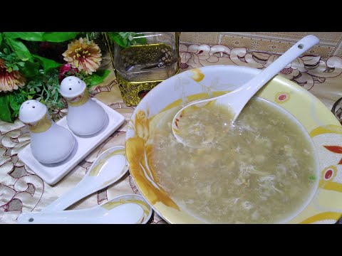 Chicken Corn Soup By Hungry Helpers Kitchen || Chicken Corn Soup With Homemade Stock
