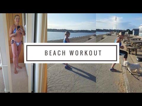 Beach Workout | Fitness & Weight Loss Journey