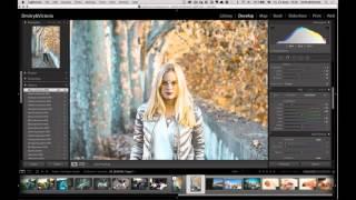 Стилизация фотографий в Lightroom. Бесплатный урок от Дмитрия Федотова.