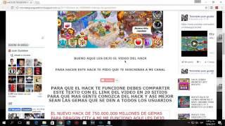 HACK DE 750 000 000 DE GEMAS PARA DRAGON CITY 2017 NUEVO!!