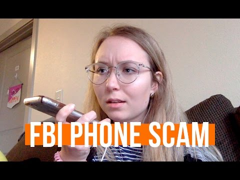 ARRESTED OVER THE PHONE? FBI SCAM CALL