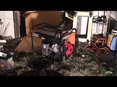 Unboxing The Ariens 7500/9375 Watt Generator With Honda GX390 Engine