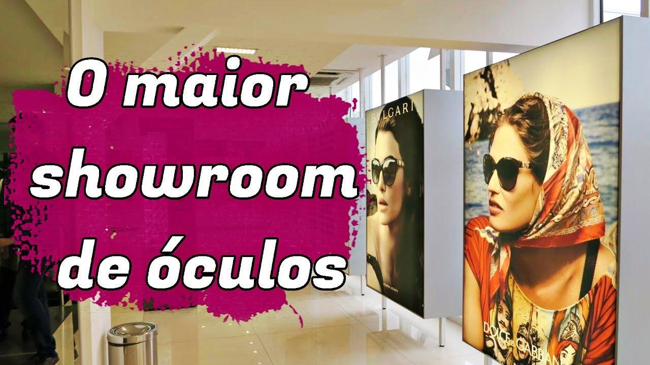 O MAIOR SHOWROOM DE ÓCULOS DA AMERICA LATINA NA SAX - YouTube 5cc15dac75