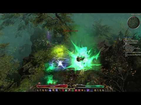 Grim Dawn - Quick playthrough of Vitality focused Blade Trap build