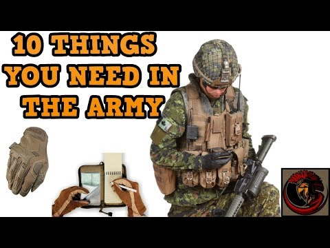 Top 10 ESSENTIAL Personal Equipment Items For The Army