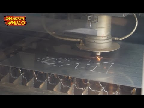 Lasercutting, how it's done - New logo