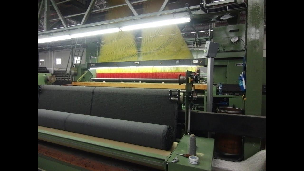 automatic carpet weaving machine - YouTube