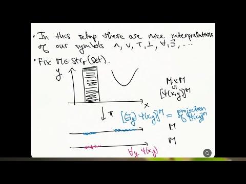 Model Theory - part 07 - Semantics pt 1