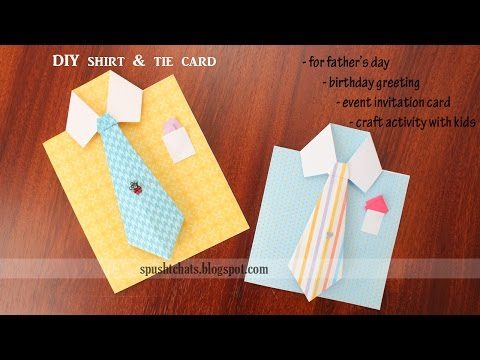 fold a missionary card ( or Dad birthday card or Father ...