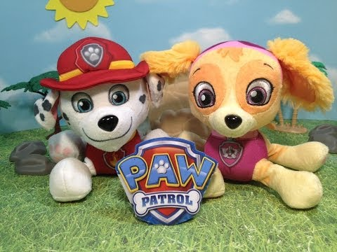 PAW PATROL Marshall and Skye Pup Pals Toy Unboxing