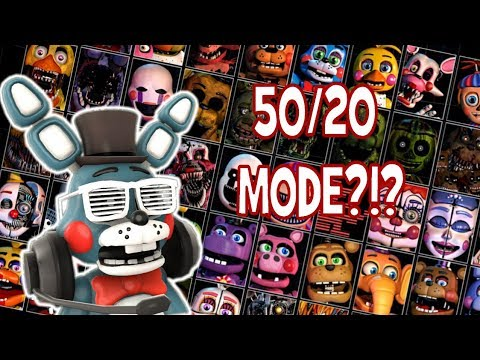 FNAF 5020 MODE CUSTOM NIGHT?!?  The Latest Five Nights At Freddys Teasers
