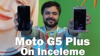Moto G5 Plus ön inceleme videosu