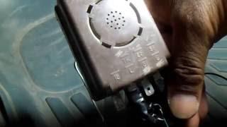 كيفية تركيب منبه رجوع السيارة للخلف How to install car alarm Back