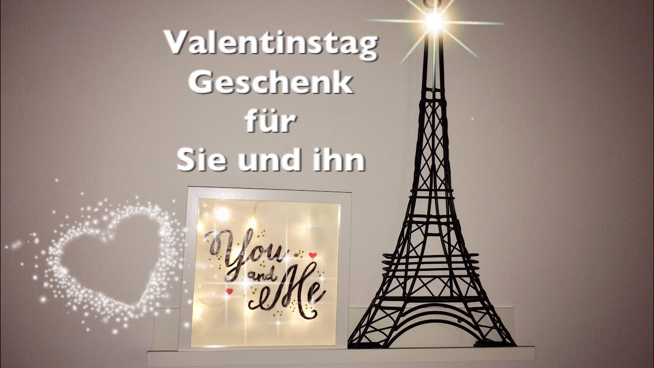 diy valentinstag geschenk f r sie ihn youtube. Black Bedroom Furniture Sets. Home Design Ideas