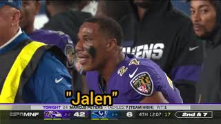 Marcus Peters CRAZY TRASH TALK vs Rams 2019