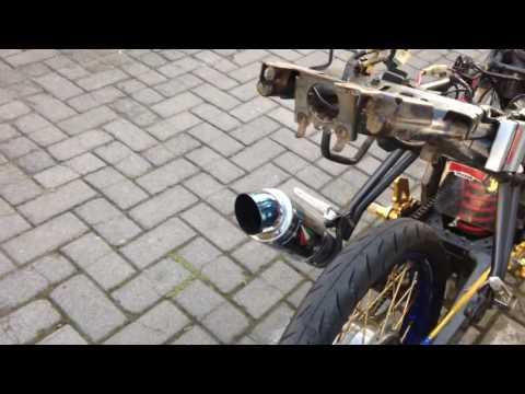 Yamaha Vixion Drag Siap Tempur - Modifikasi Yamaha Vixion Jari