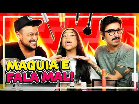 MAQUIA E FALA MAL: COMENTANDO TRETAS DE BLOGUEIRAS Feat. BLOGUEIRINHA   Diva Depressão