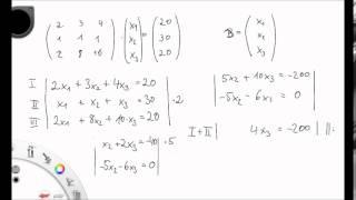 Modul 12_5 - Matrizenrechnung und lineare Gleichungssysteme