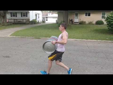 Strongman workout by Tron