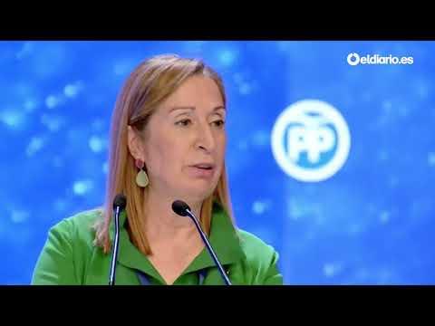 Las emotivas palabras de Ana Pastor para despedirse de Rajoy