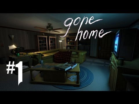 Gone Home Gameplay Walkthrough - Part 1 - CREEPY CREEPIN'!! (Gone Home Gameplay PC) 1080p HD