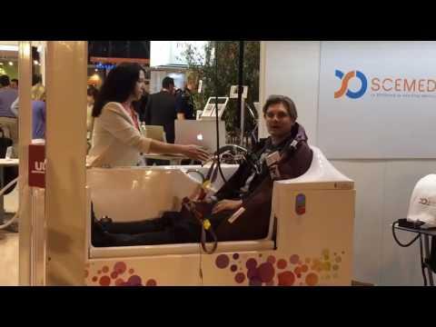 Présentation de Scemed à la Paris Healthcare Week 2017