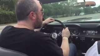 1965 Mustang Convertible test drive