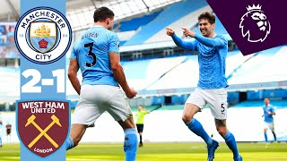 HIGHLIGHTS   CITY 2-1 WEST HAM   BEST OFFENCE IS DEFENCE