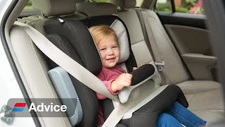 How to choose and fit booster seats and booster cushions