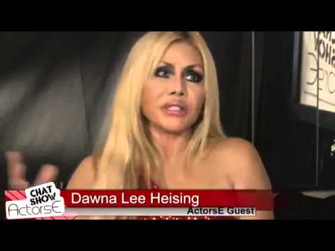 Dawna Lee Heising and Ron Brewington on ActorsE Chat