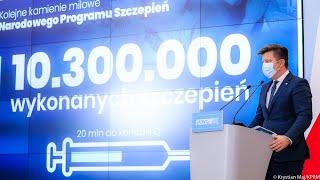 Michał Dworczyk - konferencja prasowa 26 kwietnia