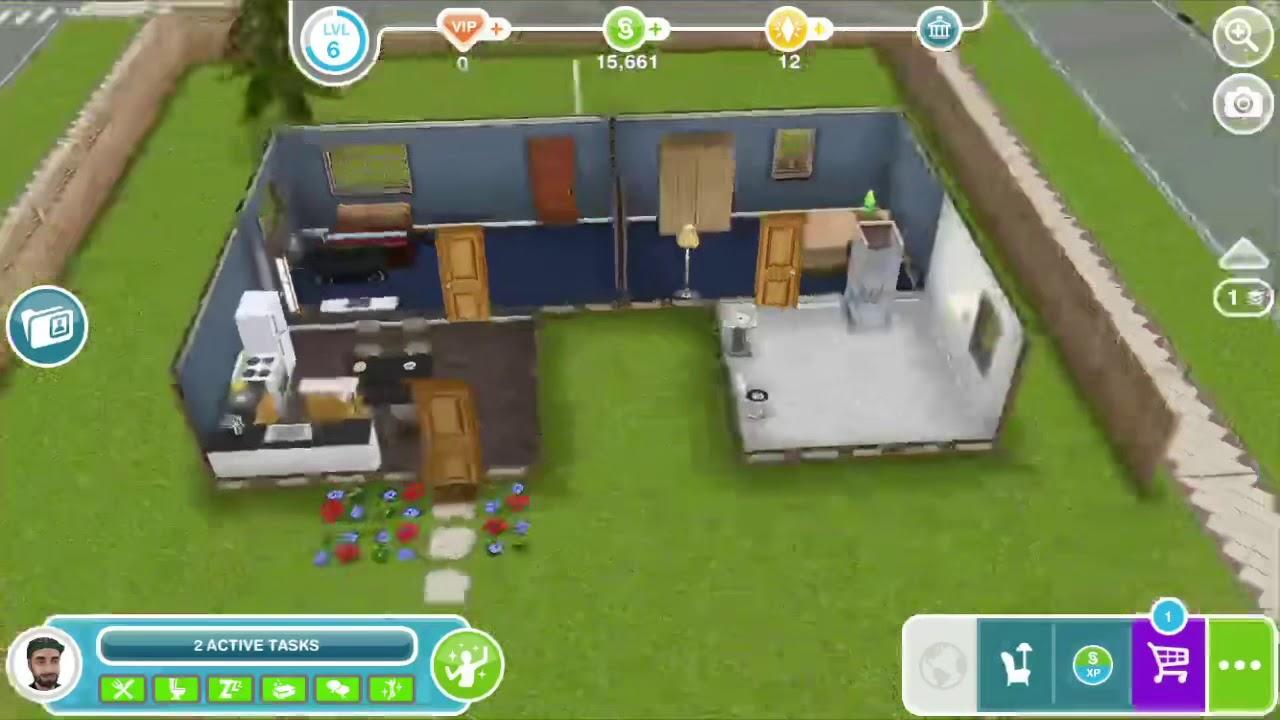 Money cheat Sims FreePlay iOS - YouTube