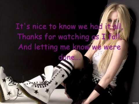 My Happy Ending---Avril Lavigne (lyrics) (letra)