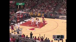 NBA 2k14 PC Gameplay 2014-15 Rosters Cavs vs Bulls