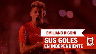 Todos los goles de Emiliano Rigoni en Independiente