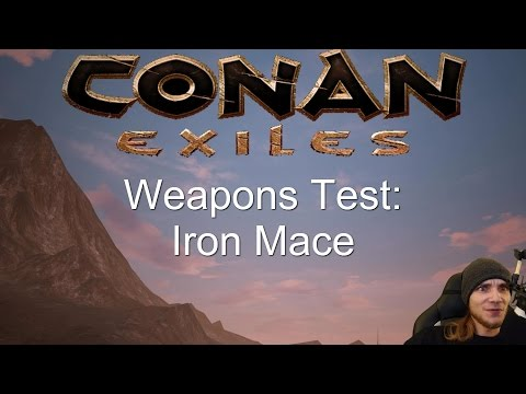 Conan Exiles NEW Weapons Test: Iron Mace